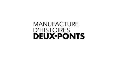 Logo Manufacture d'Histoires Deux-Pont, partenaire de la Taverne Gutenberg