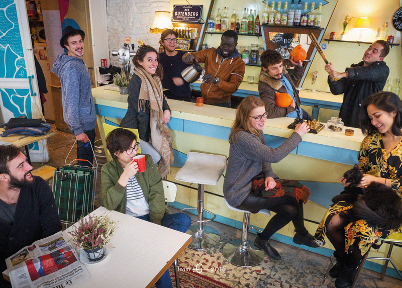 La Team .G (Taverne Gutenberg), photo de Lionel Rault
