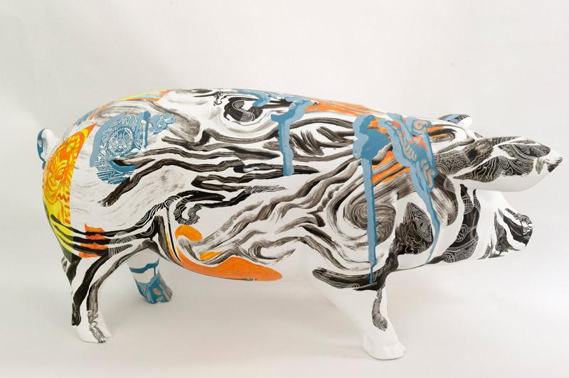 Pig d'Henri Lamy, Taverne Gutenberg, 2500 euros