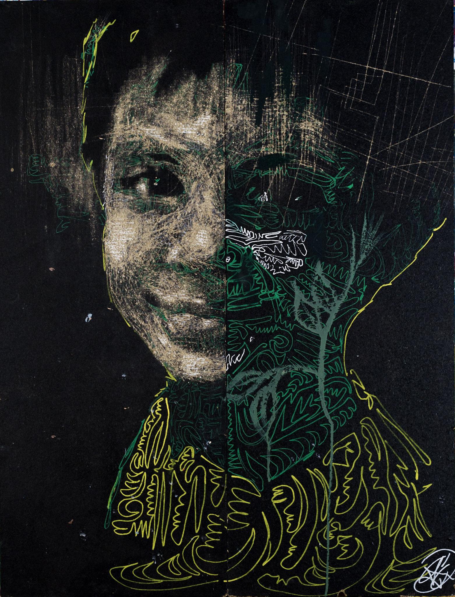 Guaratingeta d'Henri Lamy (100 x 50cm), 2500 euros