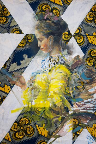 """""""iPhone Lady"""" d'Henri Lamy, co-fondateur de la Taverne Gutenberg"""