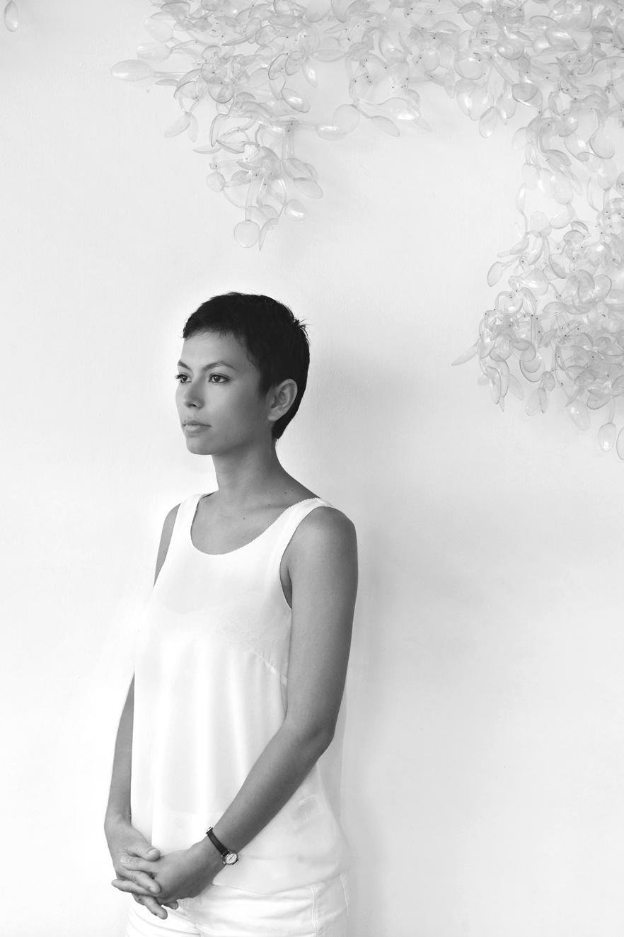 Portrait of Olivia d'Aboville, photo by Milo Sogueco
