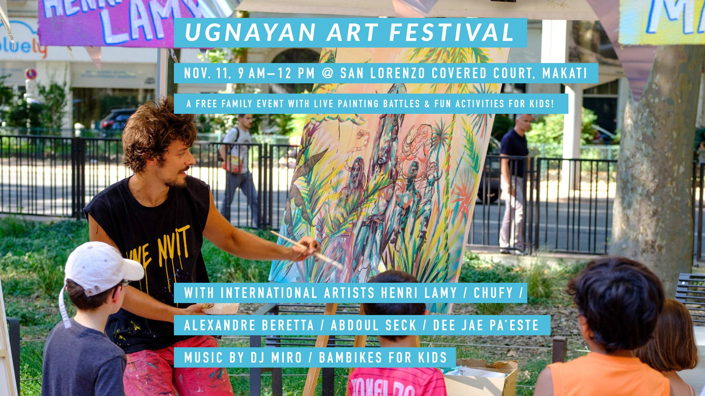 Ugnayan sa Poblacion family event, San Lorenzo x Taverne Gutenberg