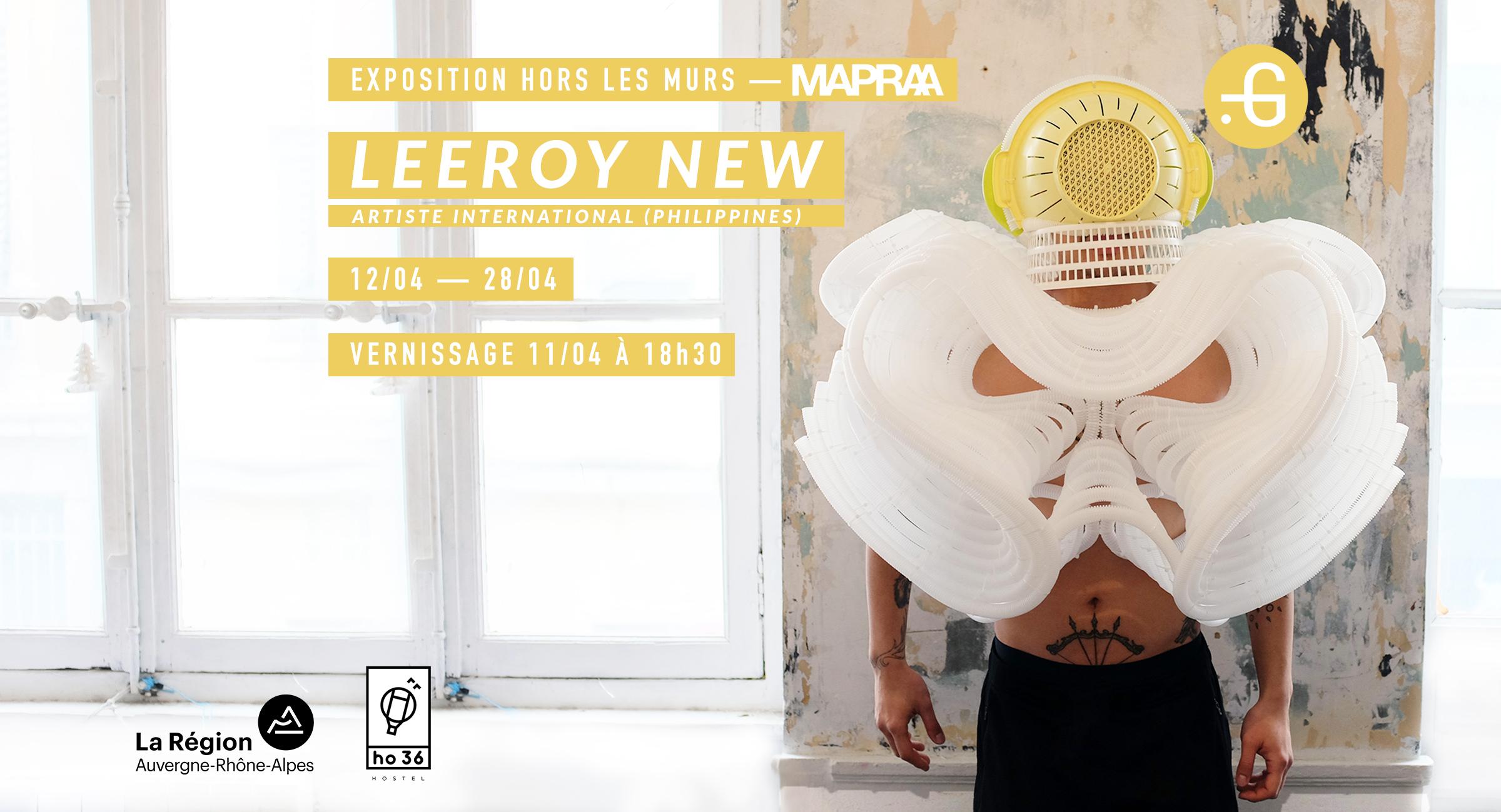 Leeroy New à la Mapraa, présenté par Taverne Gutenberg, Lyon