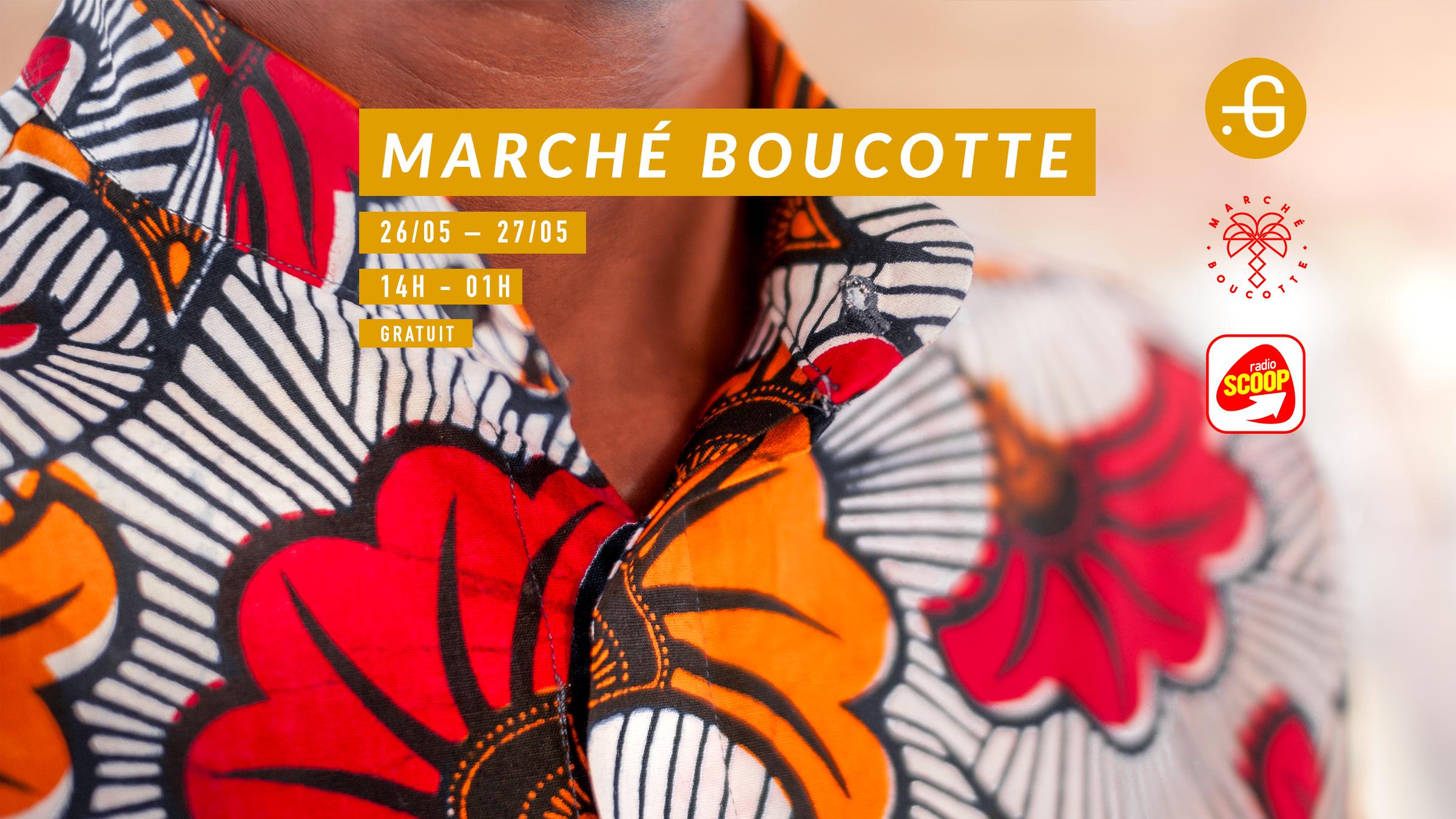 Marché boucotte, 26-27 mai 2018