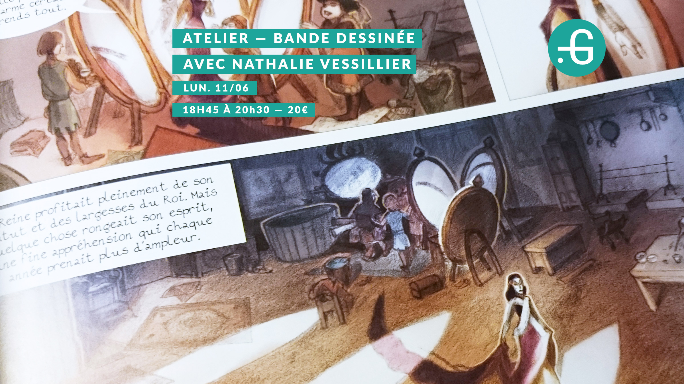 Atelier Nathalie Vessillier, 11 juin 2018