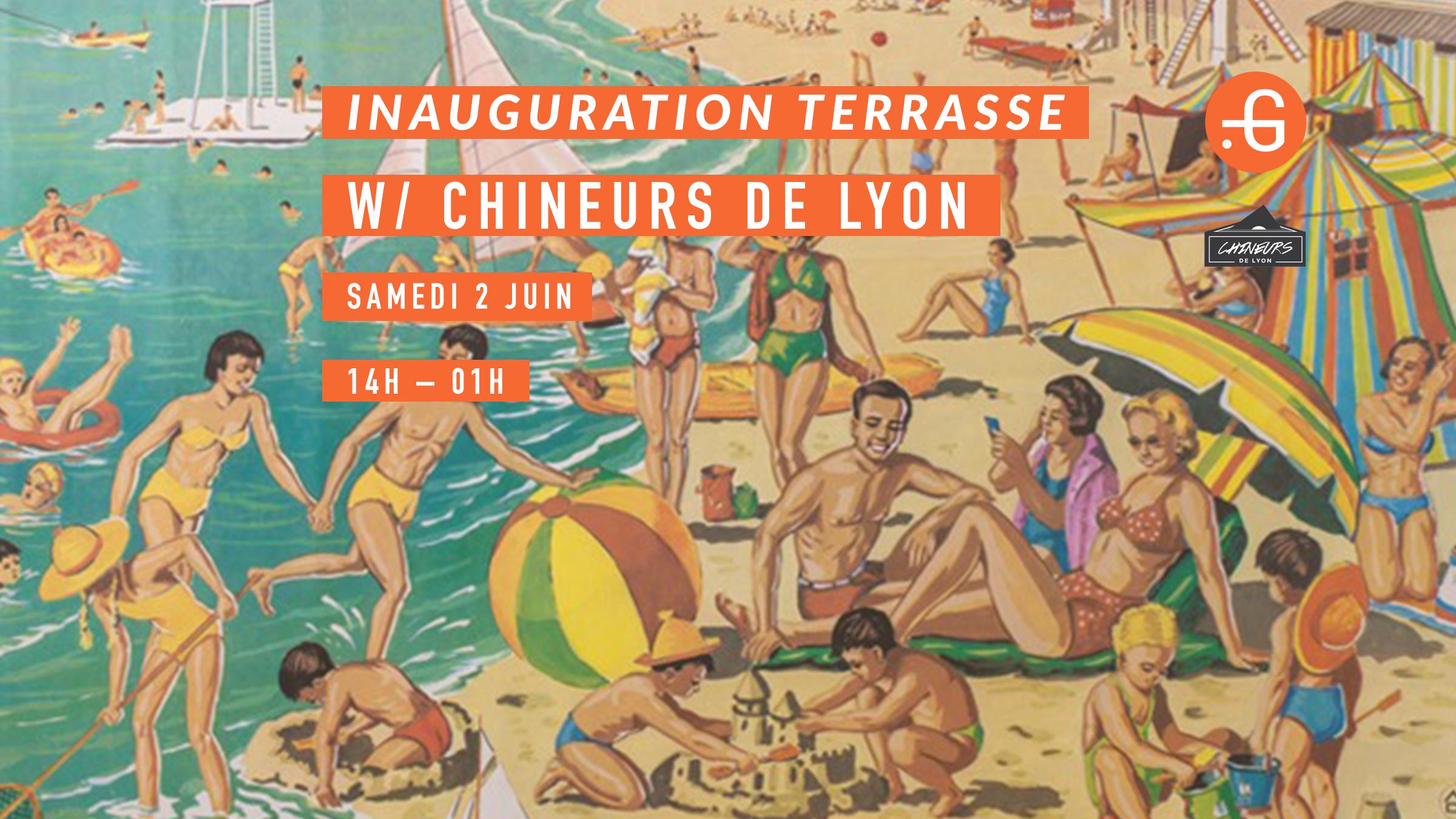 Inauguration Terrasse, Samedi 2 juin 2018