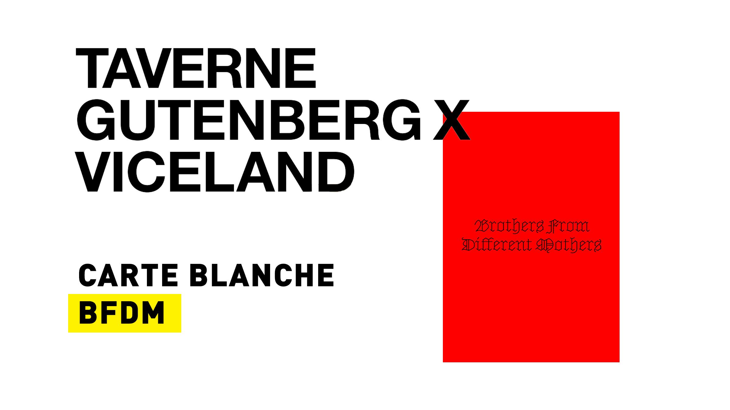 Carte blanche BFDM, 09/05