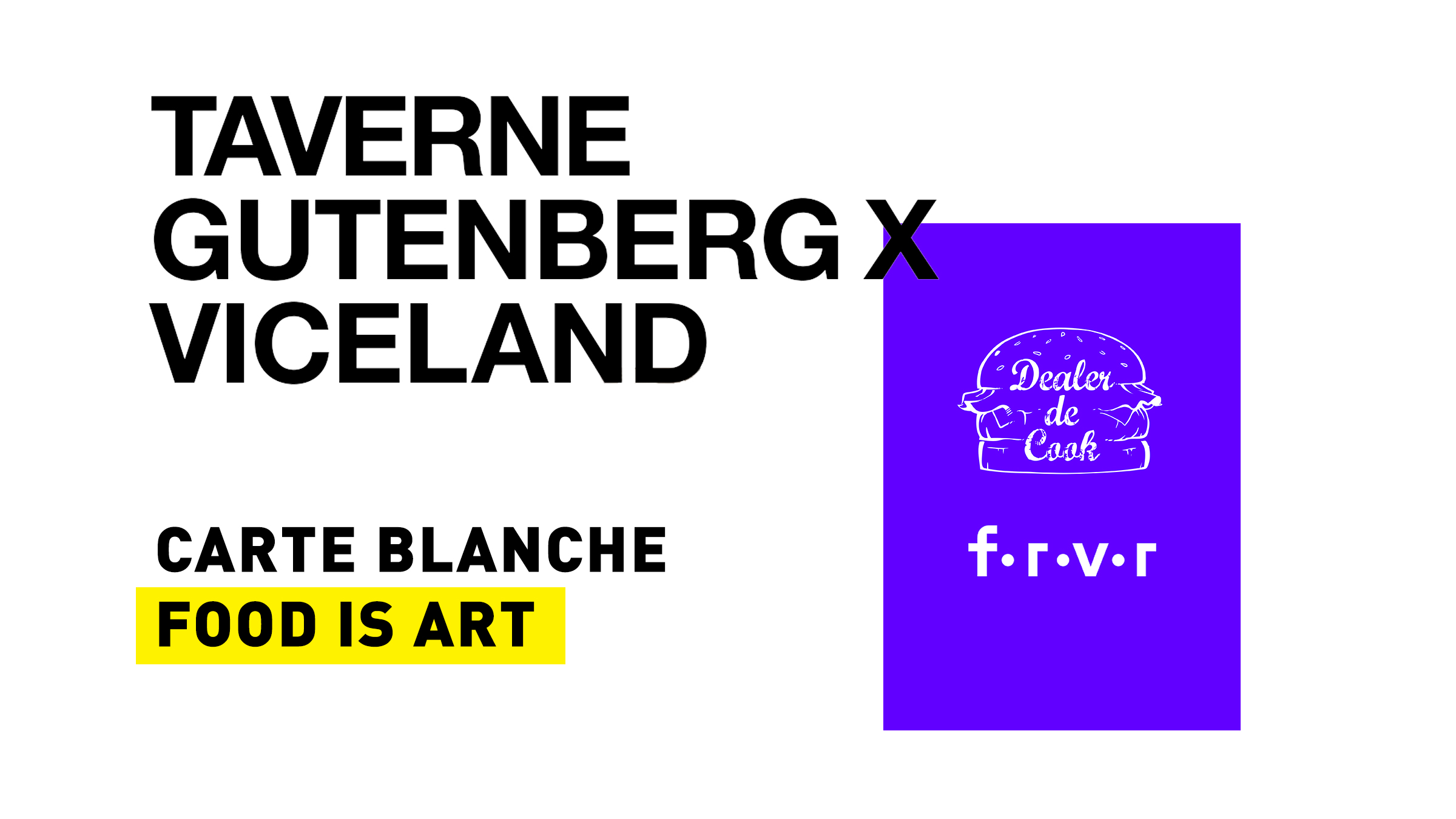 Carte blanche food is art, Viceland, 08/05