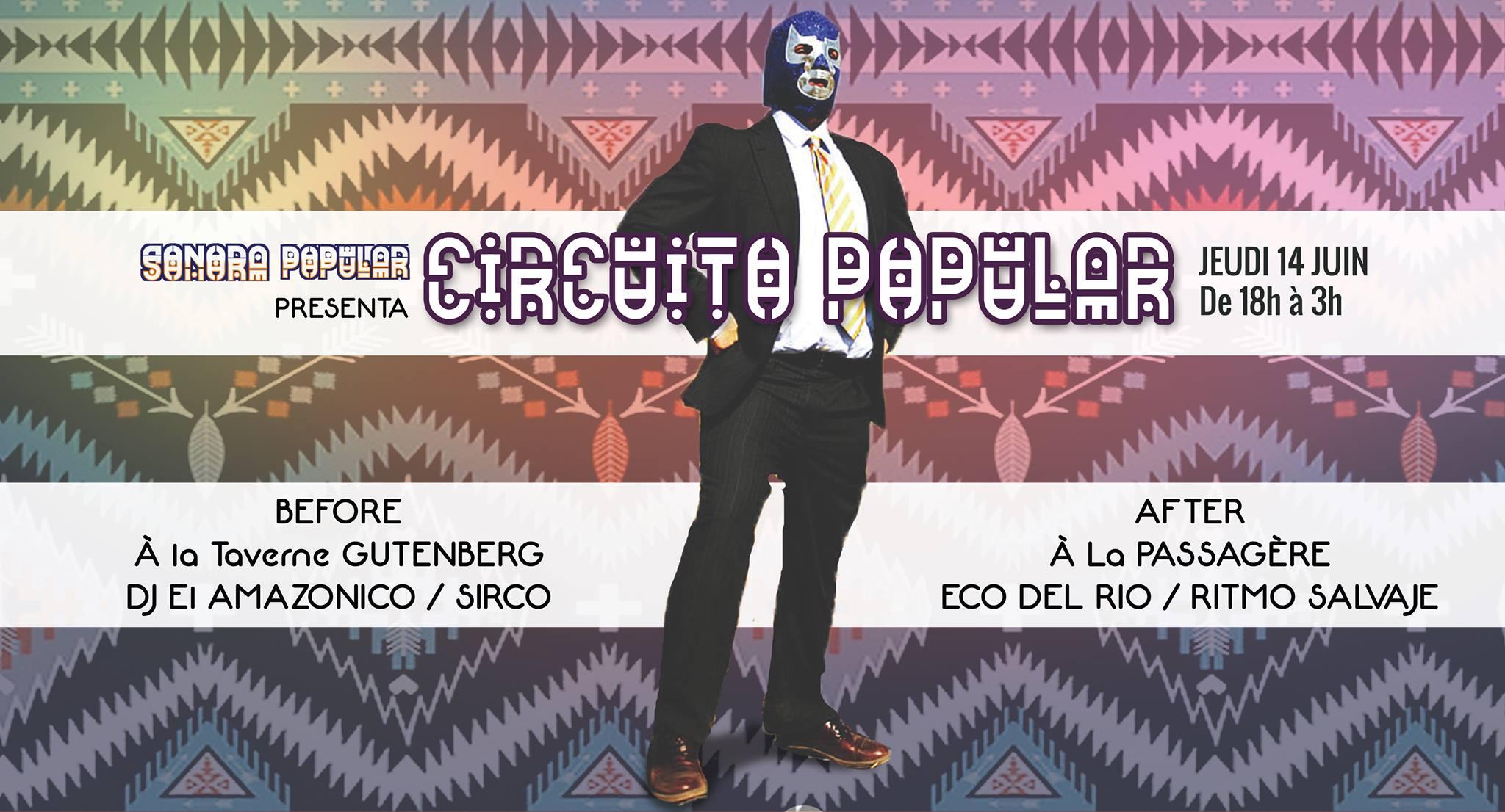 Circuito Popular, 14 juin 2018