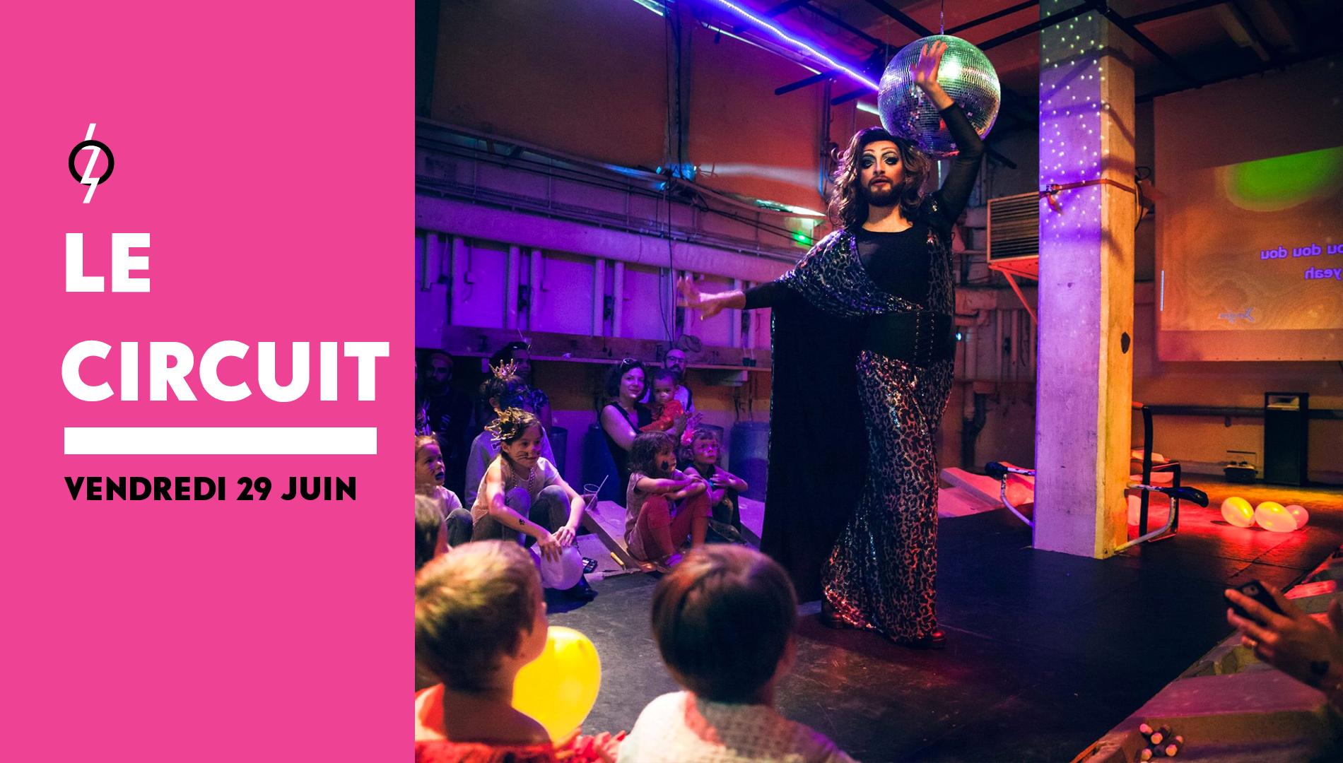 L'heure du conte des drag queen, 29 juin 2018